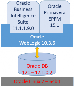 Oracle Primavera 15.1 EPPM on one Linux server