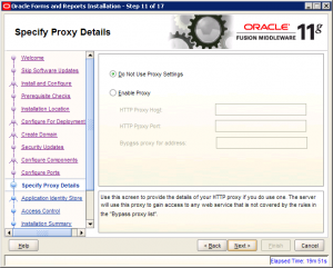 Oracle Reports Installation 11g Screen 11
